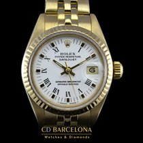 Rolex Datejust Lady 69178 Gold Box & Papers Top Condition