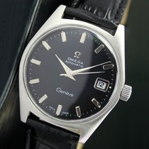 Omega Geneve Automatic Quick Set Date Steel Mens Watch