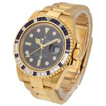 Rolex Unworn 116748SA GMT Master II with Sapphire and Diamond...