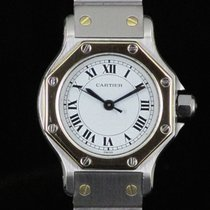 Cartier Santos Octagon Lady 25 mm Steel&Gold Automatic