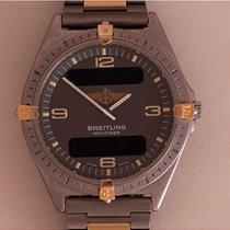 Breitling Aerospace Titanium-Gold Full Bar