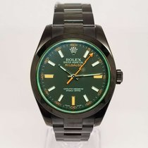 Rolex Oyster Perpetual Milgauss  Stainless Steel DLC Coating