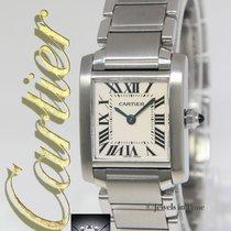 Cartier Tank Francaise Stainless Steel Quartz Small Ladies...