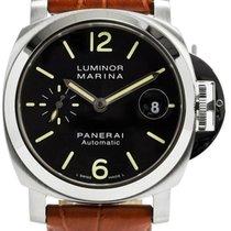 Panerai Luminor Marina Black Dial Automatic Swiss Men Watch...