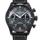 "Alpina STARTIMER PILOT ""BLACKSTAR"" - 100 % NEW - FREE..."