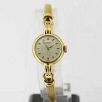 IWC Damenarmbanduhr in 750/- Gelbgold, Handaufzug