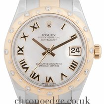 Rolex Datejust Stainless Steel and 18ct Yellow Gold 178343