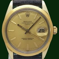 Rolex Oyster Perpetual Date 15505 Golden Egg Quick Set