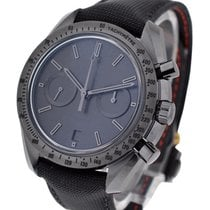 Omega Speedmaster Moonwatch Co Axial Chronograph Dark Side of...