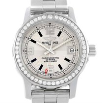 Breitling Colt 33 Stainless Steel Diamond Ladies Watch A77387