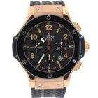 Hublot Big Bang Evolution Rose Gold Ceramic Bezel 44mm Watch...