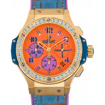 Hublot Big Bang Pop Art Yellow Gold Blue