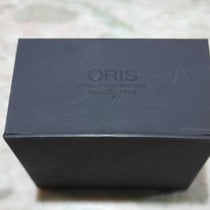 Oris vintage watch box leather black used