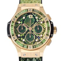 Hublot Boa Big Bang Green Automatic Chronograph Watch 341.PX.7...