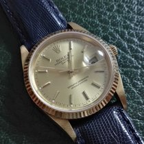 Rolex Oyster Date 15238 18K Yellow Gold automatic Mens Wristwatch