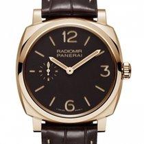 Panerai Radiomir 1940 Brown Dial Brown Leather PAM00513