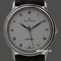 Blancpain Villeret Armbanduhr in Edelstahl Automatik um 1990