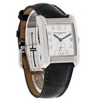 Baume & Mercier Hampton Mens STL Leather Strap Swiss...