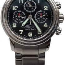Blancpain Leman Perpetual Calendar Chronograph Flyback...