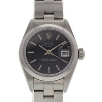 Rolex Ladies Rolex Oyster Perpetual Date 69160 Box & Papers