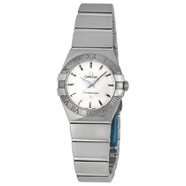 Omega Constellation 09 Silver Dial Ladies Watch 123.10.24.60.0...