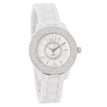 Dior VIII Ceramic Diamond Automatic Watch CD1235E5C001