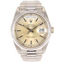 Rolex Day date 18239 Full grey gold