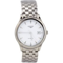 Longines Flagship Automatic White Dial Stainless Steel...