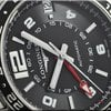 Longines Admiral GMT Automatic Steel Case and Bracelet Black Dial