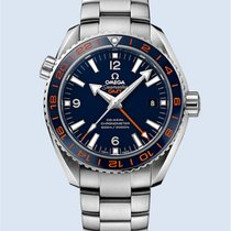 Omega Seamaster Planet Ocean 600 M GMT 43.5 MM GOOD PLANET -NEU-
