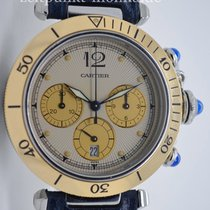 Cartier Pasha Quartz Chronograph, Ref. 1032, Bj. 1995