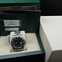 Rolex GMT-MASTER 2 116710LN Stainless Steel Ceramic Bezel Full...