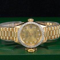 "Rolex Datejust ""DIAMOND"" Gelbgold/18kt. Presidentband..."