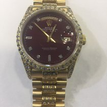 Rolex Oyster Perpetual Day date gold and diamonds