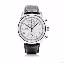 IWC Portuguese Chronograph Classic IW390403 Silver 42mm