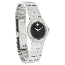 Movado S.E. Sports Edition Mini Ladies Stainless Steel Watch...