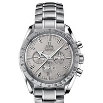 Omega Speedmaster Broad Arrow 18k White Gold 42mm Rare