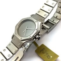 Cartier Santos Octagon 26mm Stainless Steel Automatic Ladies...