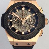 ウブロ (Hublot) King Power Unico King Gold Carbon 48 701.OQ.0180.RX