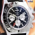 Breitling Chronomat GMT 47mm Auto Chrono Steel Mens Watch...