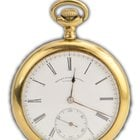 Henry Birks & Sons Chronograph Limited 1881 Pocket Watch