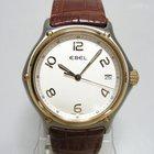 Ebel 1911 Classic ref: 1187241 or et acier sur cuir brun