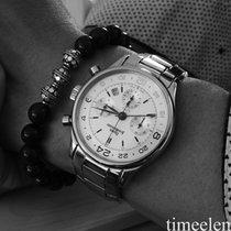 JeanRichard Chronograph GMT 54012 perfektes Fullset