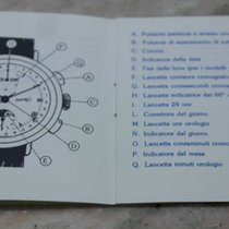 "Eberhard & Co. vintage booklet ""replica"" chrono"