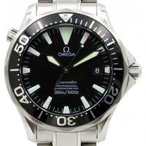 Omega Seamaster Professional 300M 2254.50 Black Large Stainles...