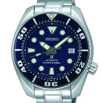 Seiko Herrenuhr Prospex Automatik Diver 200, SBDC033