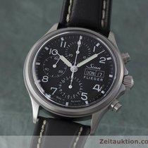 Sinn 358 Flieger Chronograph Automatik Herrenuhr 358.1020 Von...