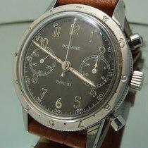 Dodane Type 21 military chronograph valjoux flyback tropical dial