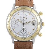 Chopard Mens Automatic Gold Plated Stainless Steel Chronograph...