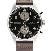 IWC IW387806 Pilot Chronograph Steel Edition Antoine De Saint